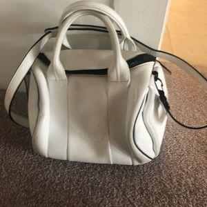 Alexander Wang White Rocco bag  crossbody strap